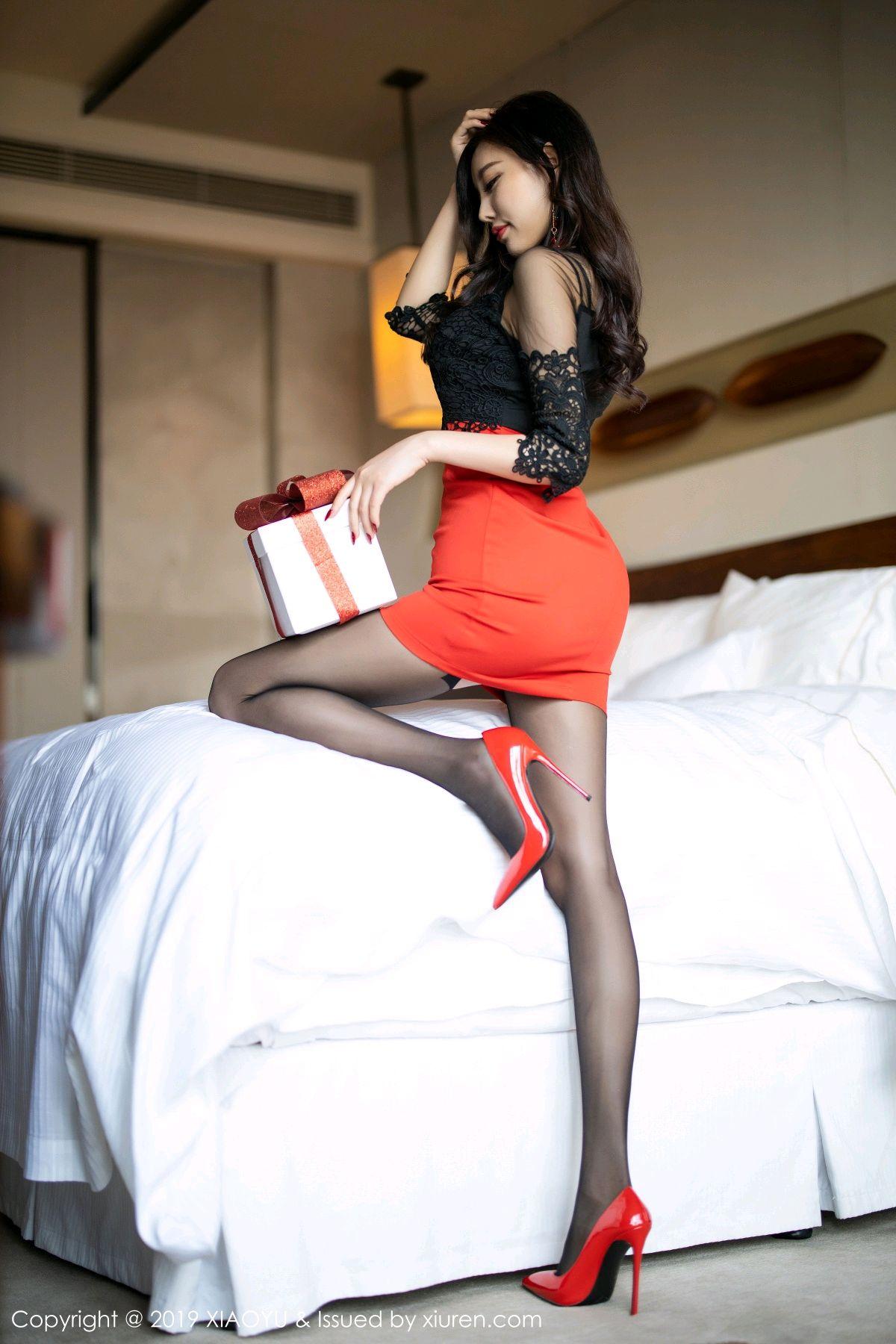 [XiaoYu] Vol.225 Yang Chen Chen 37P, Christmas, Underwear, XiaoYu, Yang Chen Chen