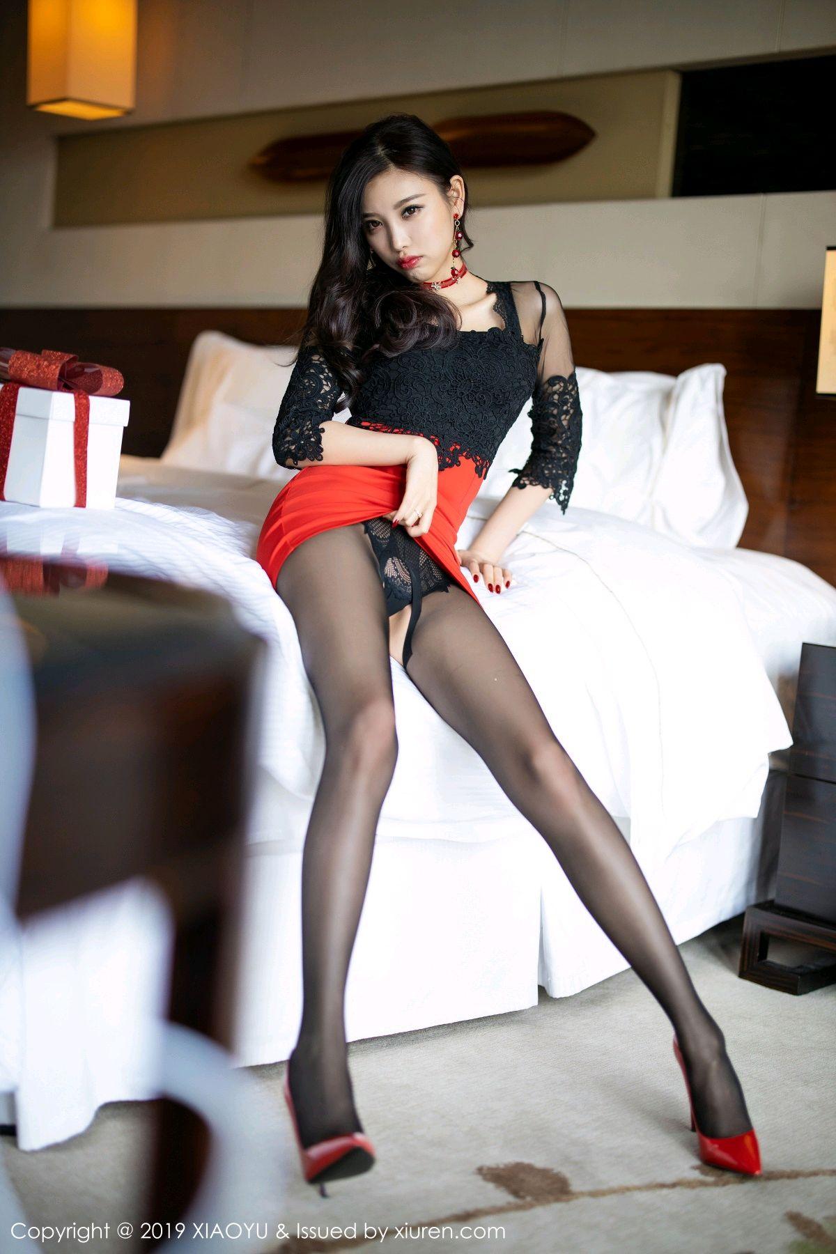 [XiaoYu] Vol.225 Yang Chen Chen 40P, Christmas, Underwear, XiaoYu, Yang Chen Chen