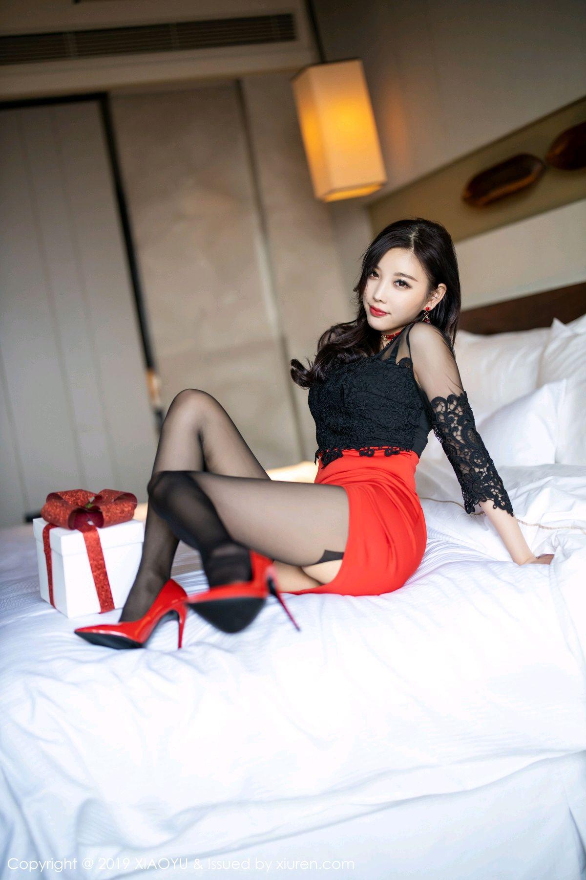 [XiaoYu] Vol.225 Yang Chen Chen 43P, Christmas, Underwear, XiaoYu, Yang Chen Chen