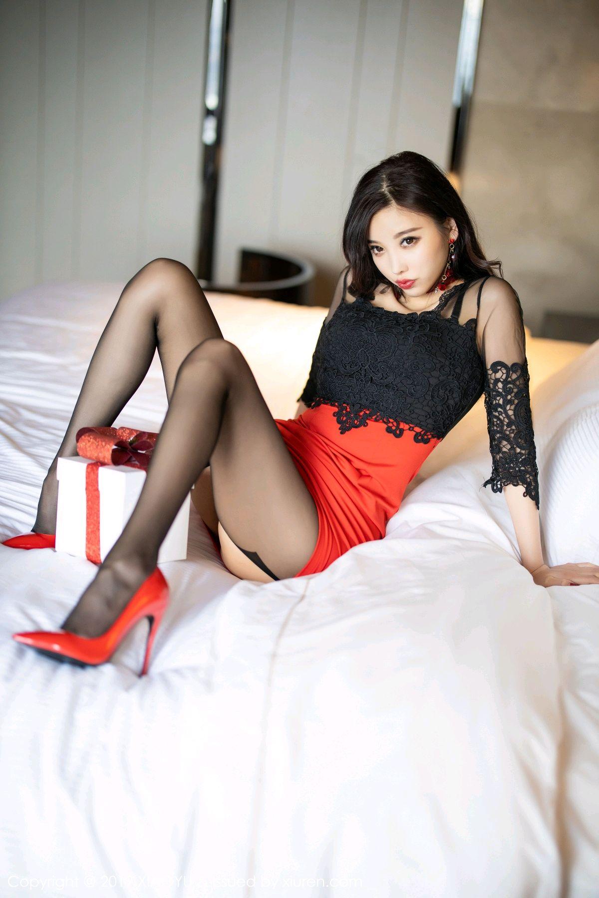 [XiaoYu] Vol.225 Yang Chen Chen 50P, Christmas, Underwear, XiaoYu, Yang Chen Chen