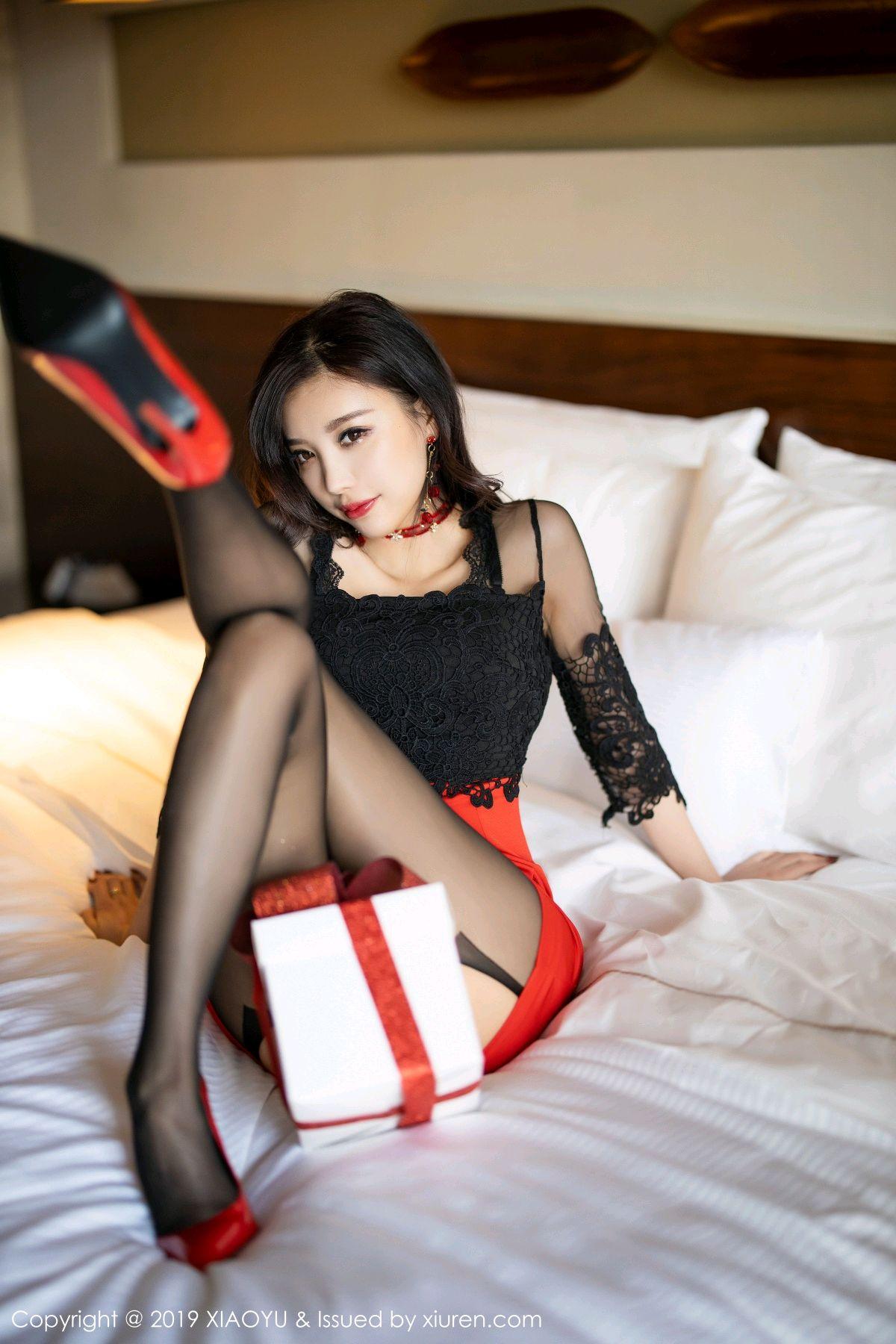 [XiaoYu] Vol.225 Yang Chen Chen 52P, Christmas, Underwear, XiaoYu, Yang Chen Chen