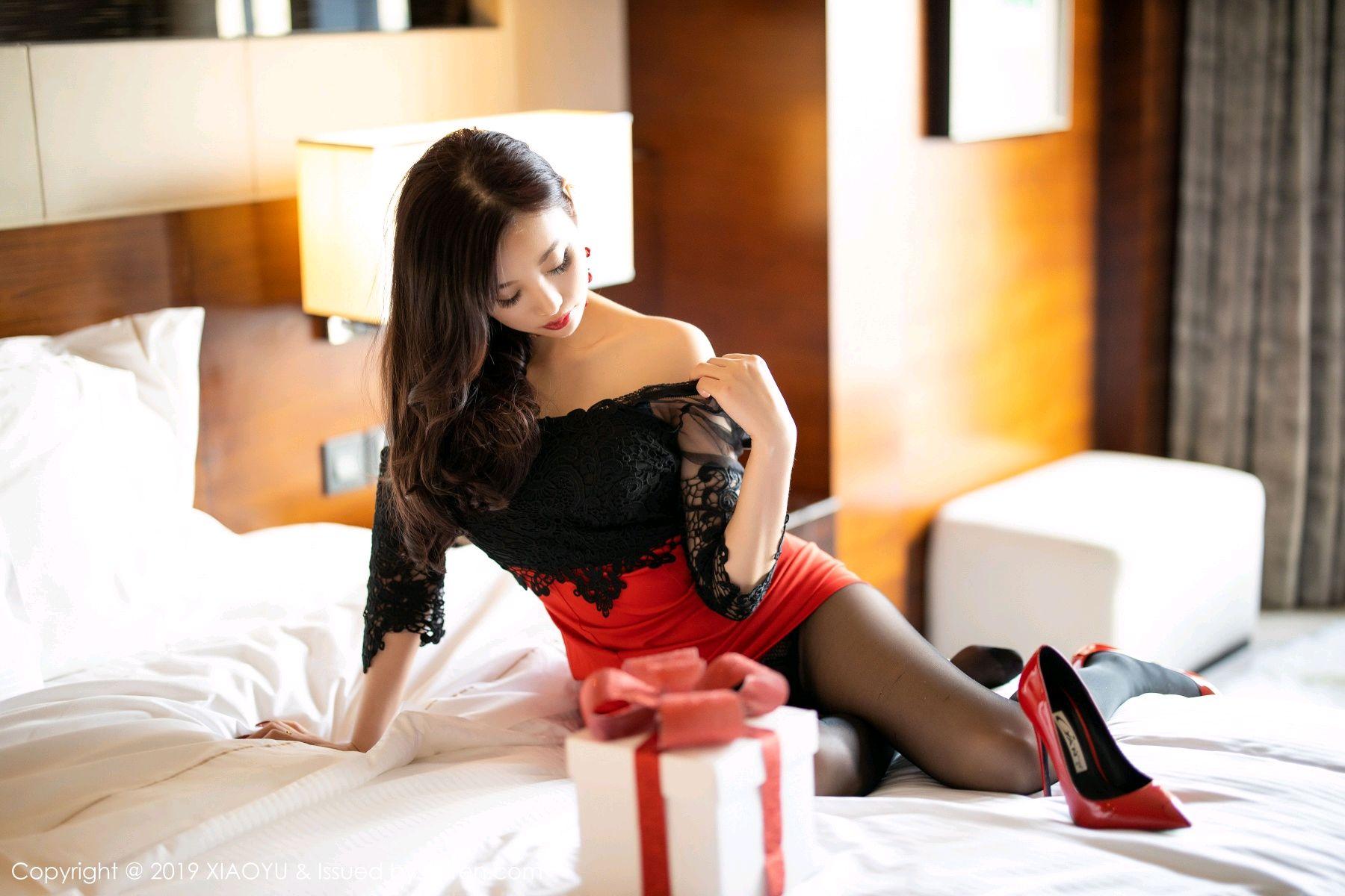 [XiaoYu] Vol.225 Yang Chen Chen 55P, Christmas, Underwear, XiaoYu, Yang Chen Chen