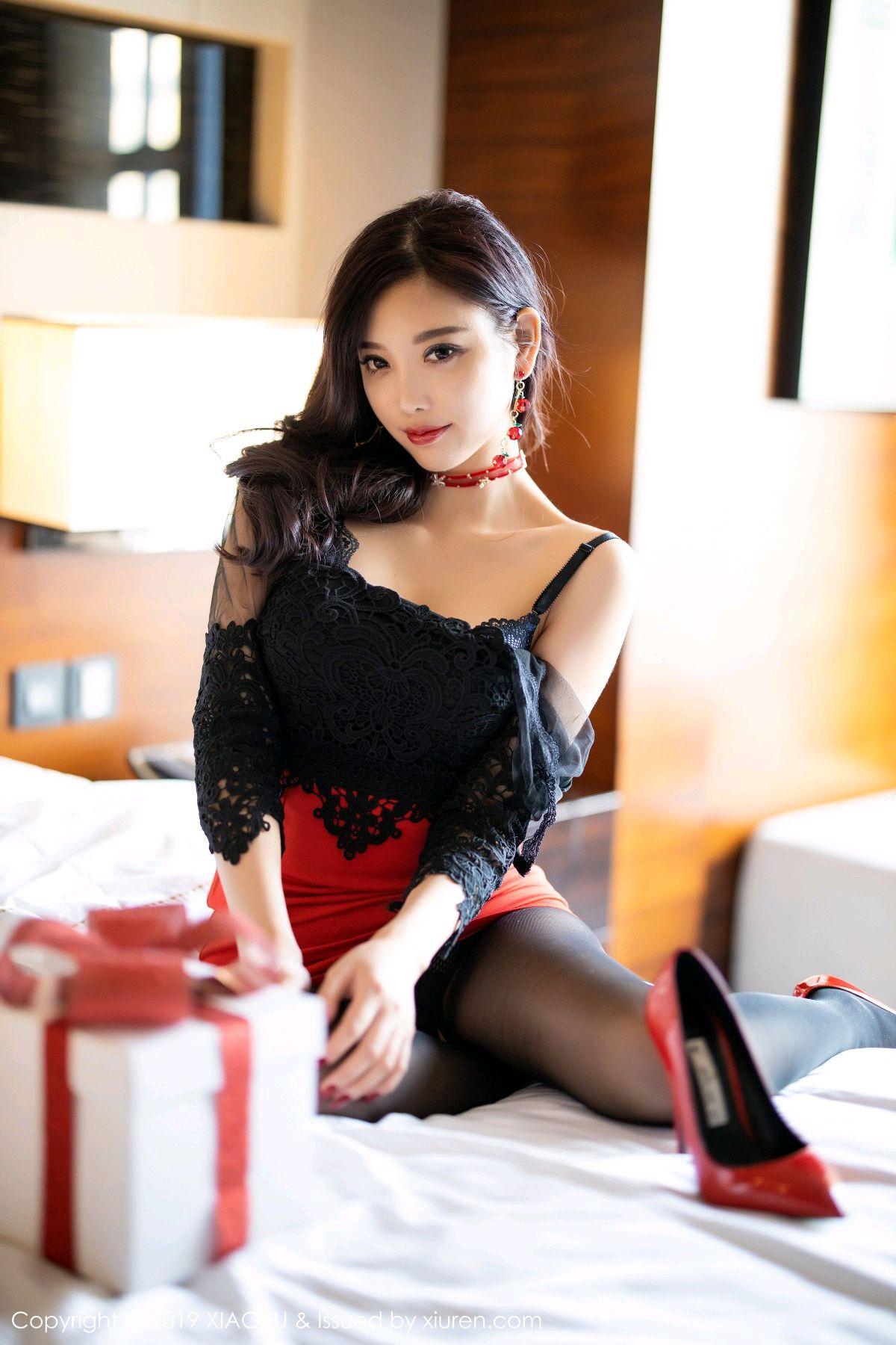 [XiaoYu] Vol.225 Yang Chen Chen 56P, Christmas, Underwear, XiaoYu, Yang Chen Chen