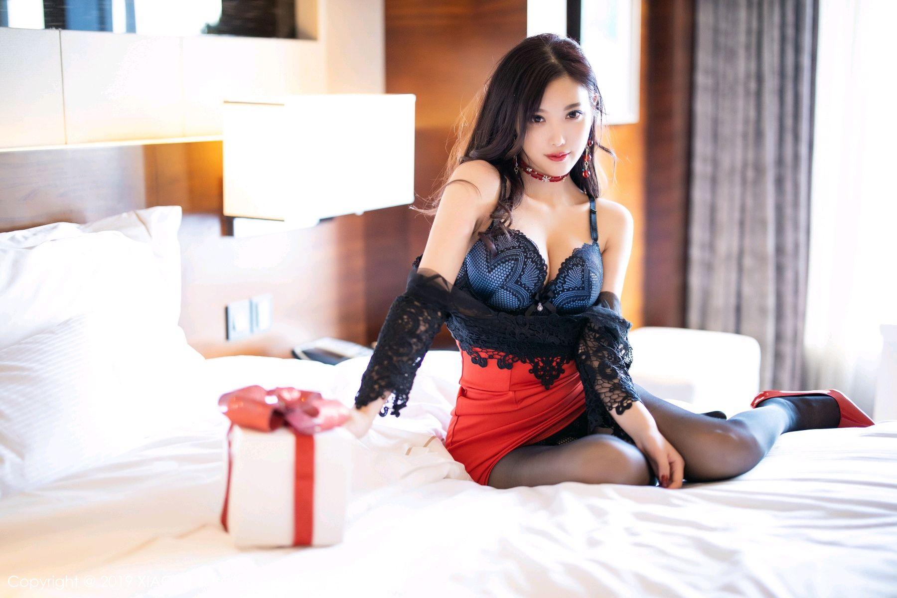 [XiaoYu] Vol.225 Yang Chen Chen 64P, Christmas, Underwear, XiaoYu, Yang Chen Chen