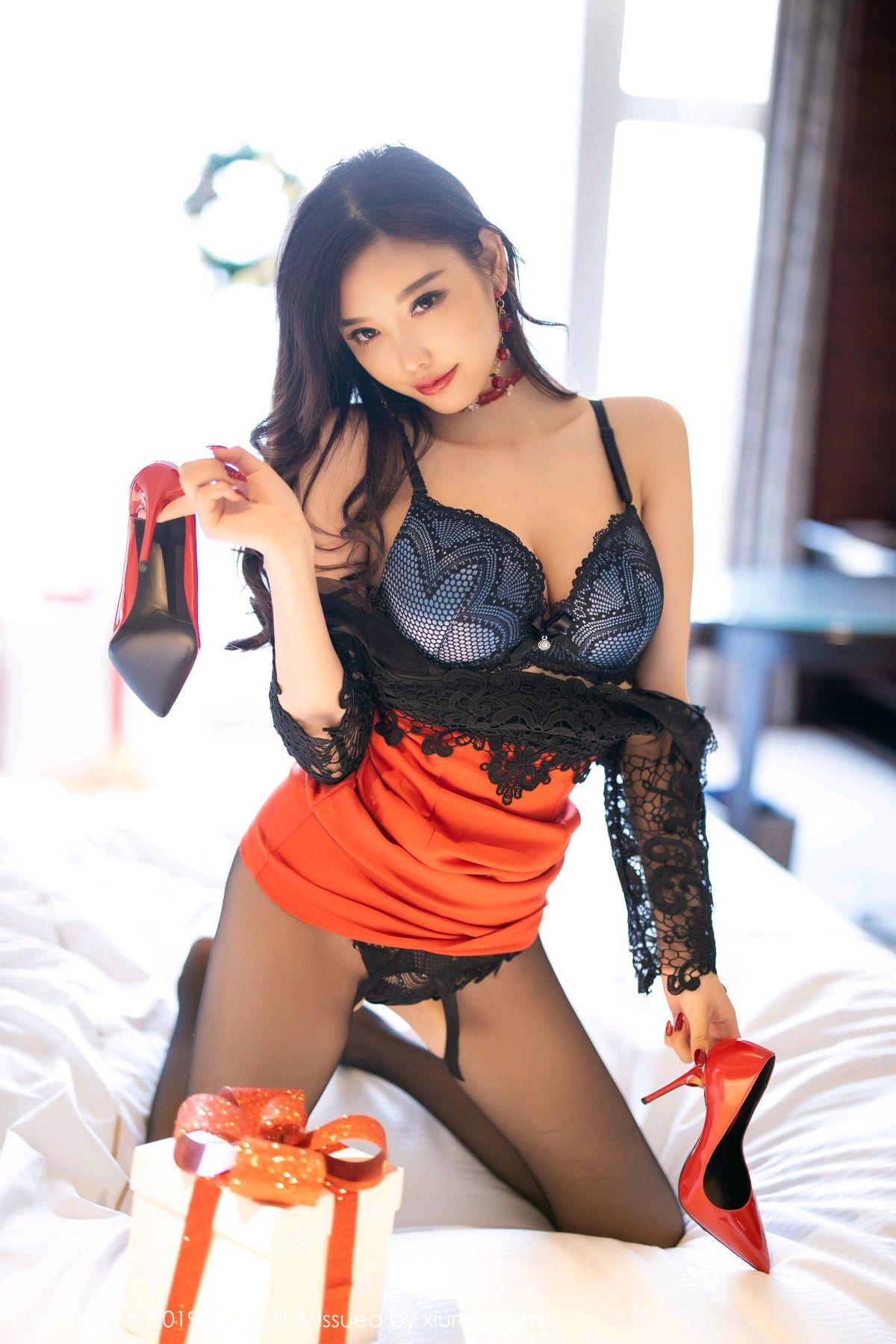 [XiaoYu] Vol.225 Yang Chen Chen 65P, Christmas, Underwear, XiaoYu, Yang Chen Chen