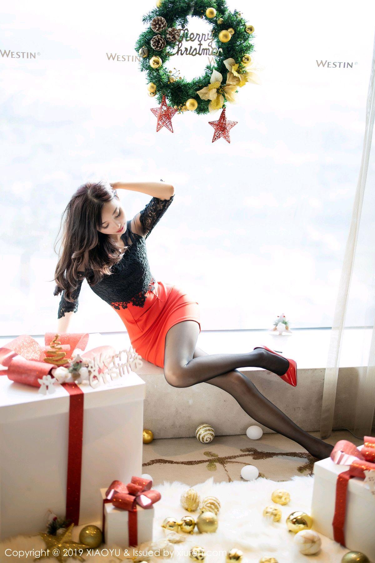 [XiaoYu] Vol.225 Yang Chen Chen 7P, Christmas, Underwear, XiaoYu, Yang Chen Chen