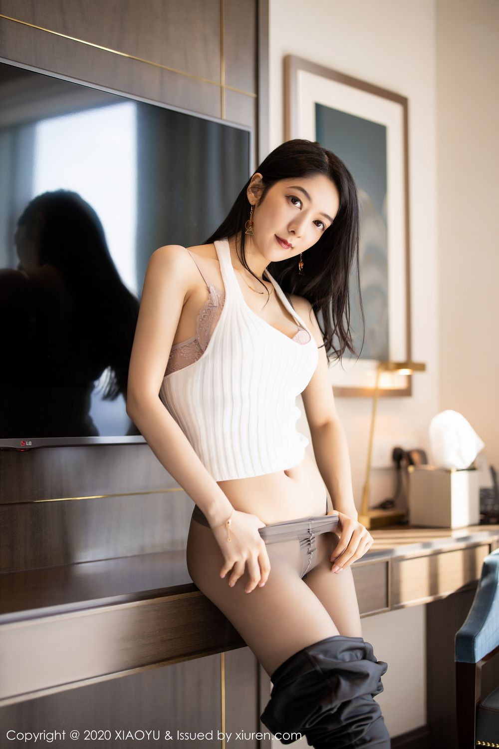 [XiaoYu] Vol.229 Xiao Re Ba 17P, Di Yi, Foot, Underwear, XiaoYu