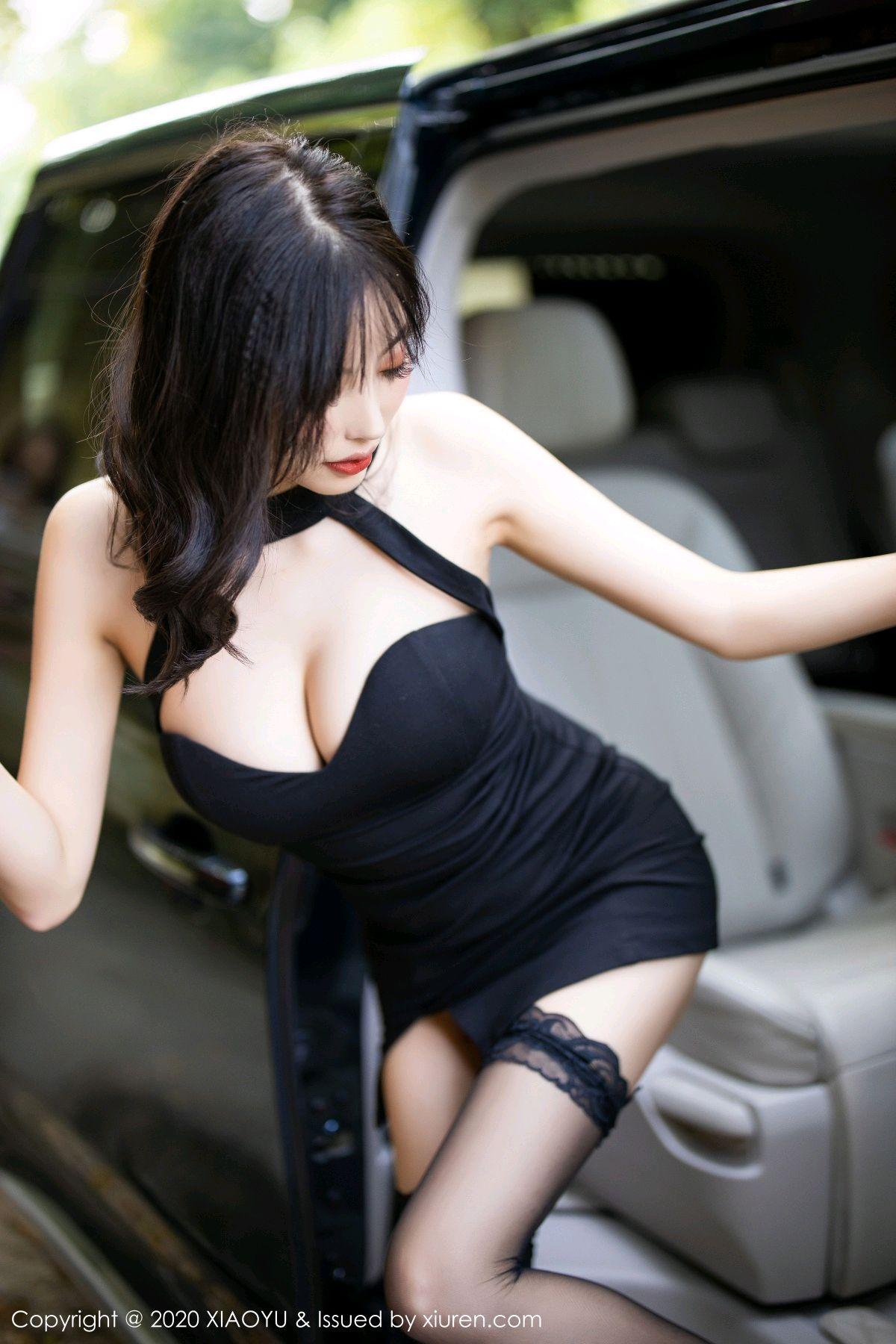 [XiaoYu] Vol.230 Yang Chen Chen 26P, Black Silk, Tall, XiaoYu, Yang Chen Chen
