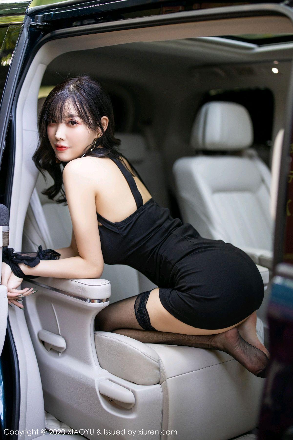 [XiaoYu] Vol.230 Yang Chen Chen 76P, Black Silk, Tall, XiaoYu, Yang Chen Chen