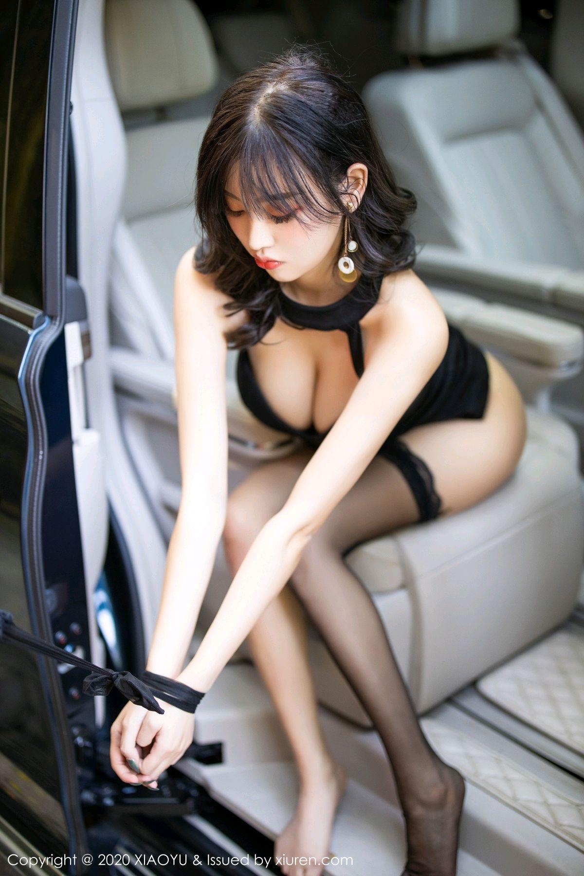 [XiaoYu] Vol.230 Yang Chen Chen 84P, Black Silk, Tall, XiaoYu, Yang Chen Chen