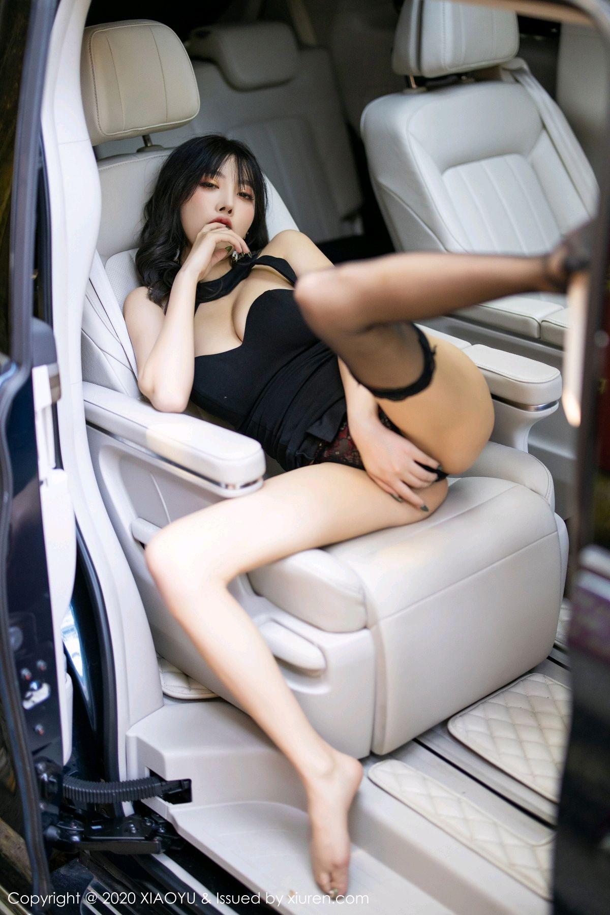 [XiaoYu] Vol.230 Yang Chen Chen 86P, Black Silk, Tall, XiaoYu, Yang Chen Chen
