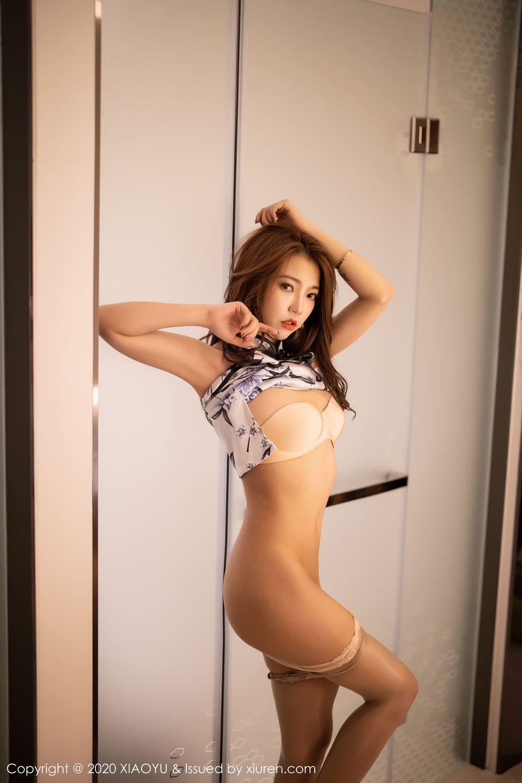 [XiaoYu] Vol.231 Feng Mu Mu 51P, Cheongsam, Feng Mu Mu, Tall, XiaoYu