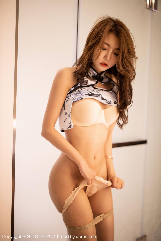 [XiaoYu] Vol.231 Feng Mu Mu 54P, Cheongsam, Feng Mu Mu, Tall, XiaoYu