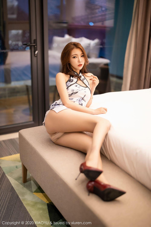 [XiaoYu] Vol.231 Feng Mu Mu 7P, Cheongsam, Feng Mu Mu, Tall, XiaoYu