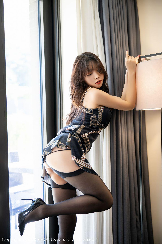 [XiaoYu] Vol.232 Chen Zhi 15P, Big Booty, Black Silk, Chen Zhi, XiaoYu