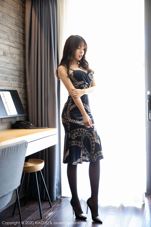 [XiaoYu] Vol.232 Chen Zhi 1P, Big Booty, Black Silk, Chen Zhi, XiaoYu