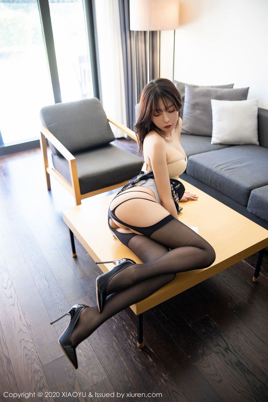 [XiaoYu] Vol.232 Chen Zhi 29P, Big Booty, Black Silk, Chen Zhi, XiaoYu