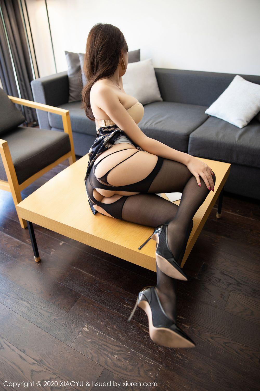 [XiaoYu] Vol.232 Chen Zhi 37P, Big Booty, Black Silk, Chen Zhi, XiaoYu