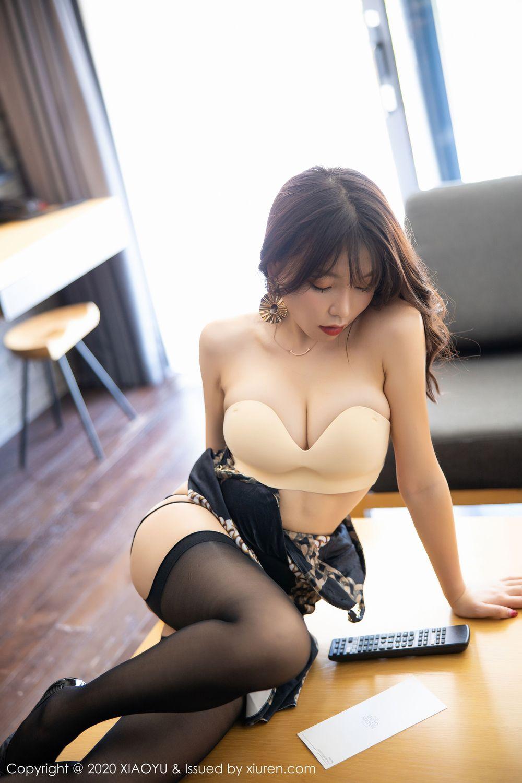 [XiaoYu] Vol.232 Chen Zhi 41P, Big Booty, Black Silk, Chen Zhi, XiaoYu