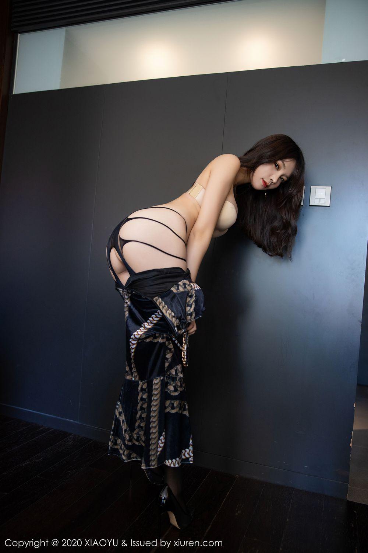 [XiaoYu] Vol.232 Chen Zhi 47P, Big Booty, Black Silk, Chen Zhi, XiaoYu