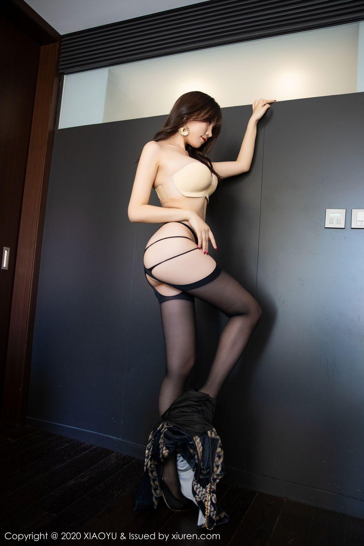 [XiaoYu] Vol.232 Chen Zhi 50P, Big Booty, Black Silk, Chen Zhi, XiaoYu