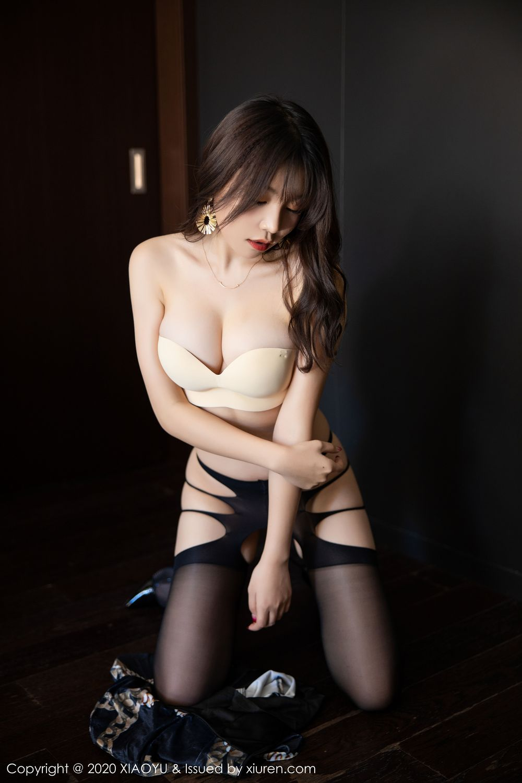 [XiaoYu] Vol.232 Chen Zhi 52P, Big Booty, Black Silk, Chen Zhi, XiaoYu