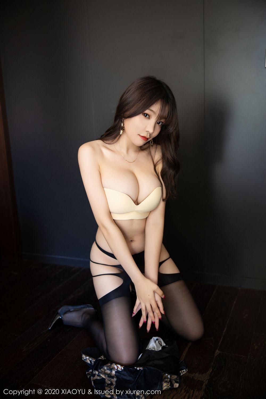 [XiaoYu] Vol.232 Chen Zhi 54P, Big Booty, Black Silk, Chen Zhi, XiaoYu