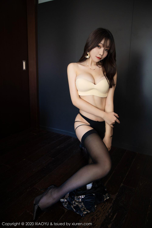 [XiaoYu] Vol.232 Chen Zhi 58P, Big Booty, Black Silk, Chen Zhi, XiaoYu