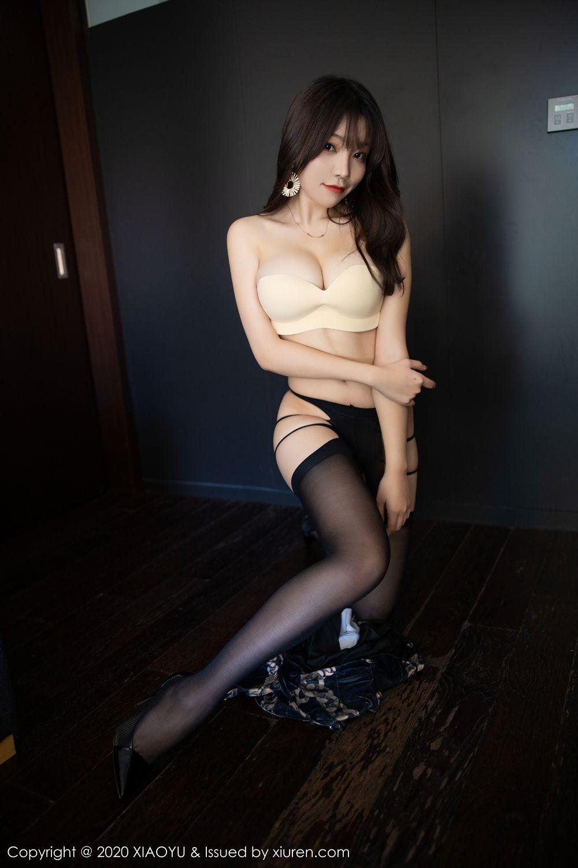 [XiaoYu] Vol.232 Chen Zhi 59P, Big Booty, Black Silk, Chen Zhi, XiaoYu