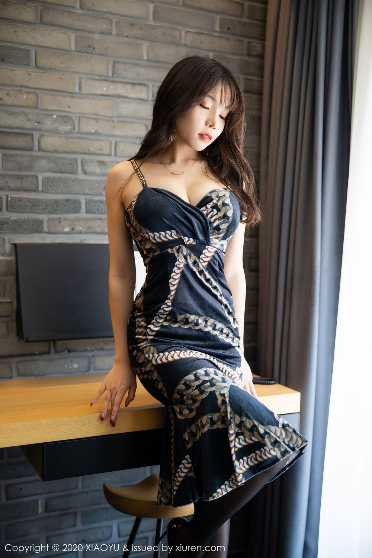 [XiaoYu] Vol.232 Chen Zhi 5P, Big Booty, Black Silk, Chen Zhi, XiaoYu