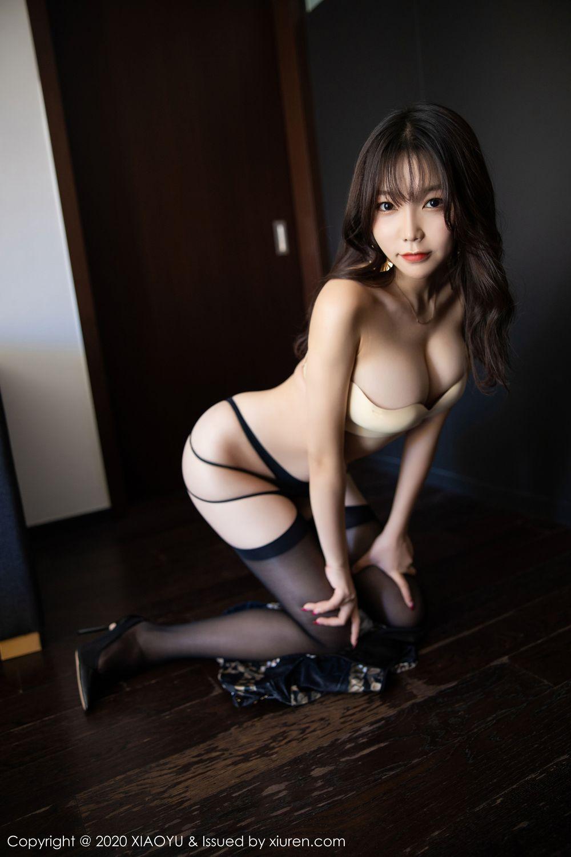 [XiaoYu] Vol.232 Chen Zhi 60P, Big Booty, Black Silk, Chen Zhi, XiaoYu