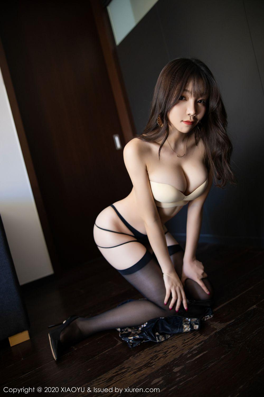 [XiaoYu] Vol.232 Chen Zhi 61P, Big Booty, Black Silk, Chen Zhi, XiaoYu