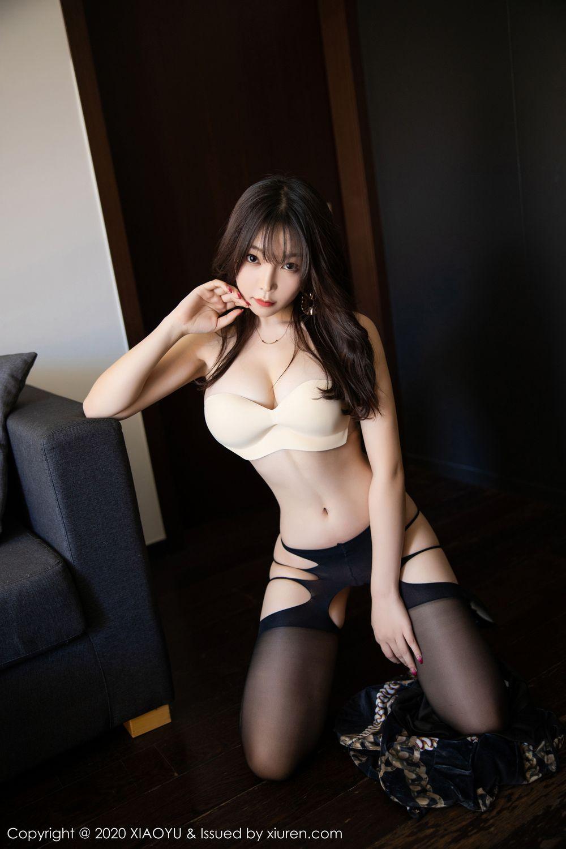 [XiaoYu] Vol.232 Chen Zhi 63P, Big Booty, Black Silk, Chen Zhi, XiaoYu