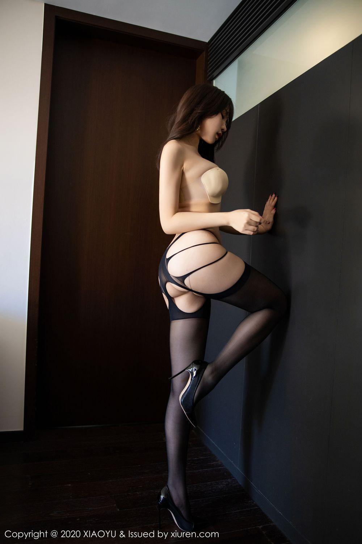 [XiaoYu] Vol.232 Chen Zhi 64P, Big Booty, Black Silk, Chen Zhi, XiaoYu