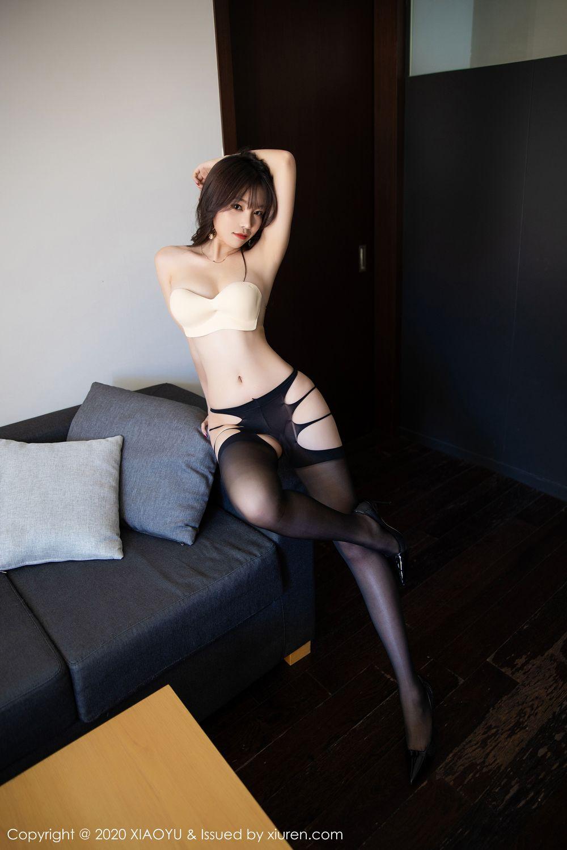 [XiaoYu] Vol.232 Chen Zhi 66P, Big Booty, Black Silk, Chen Zhi, XiaoYu