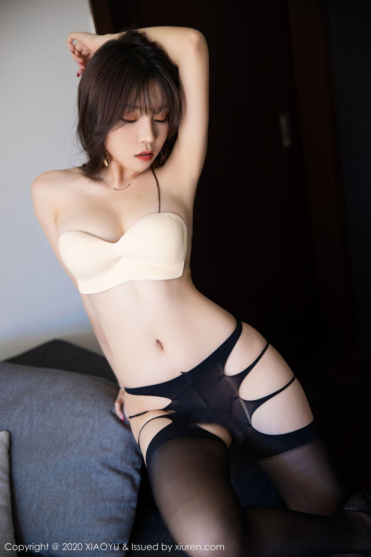 [XiaoYu] Vol.232 Chen Zhi 67P, Big Booty, Black Silk, Chen Zhi, XiaoYu