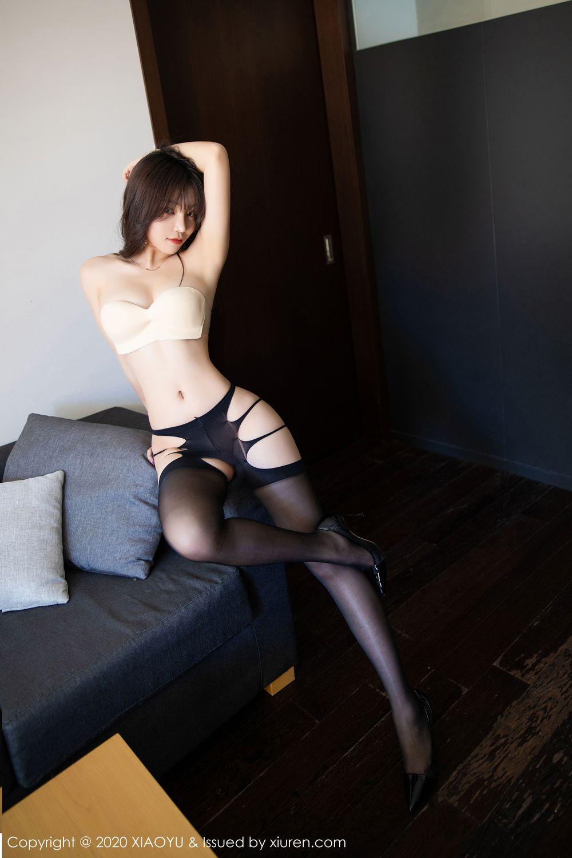 [XiaoYu] Vol.232 Chen Zhi 68P, Big Booty, Black Silk, Chen Zhi, XiaoYu