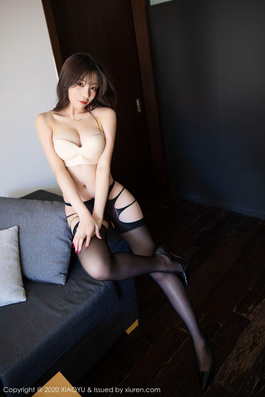 [XiaoYu] Vol.232 Chen Zhi 69P, Big Booty, Black Silk, Chen Zhi, XiaoYu