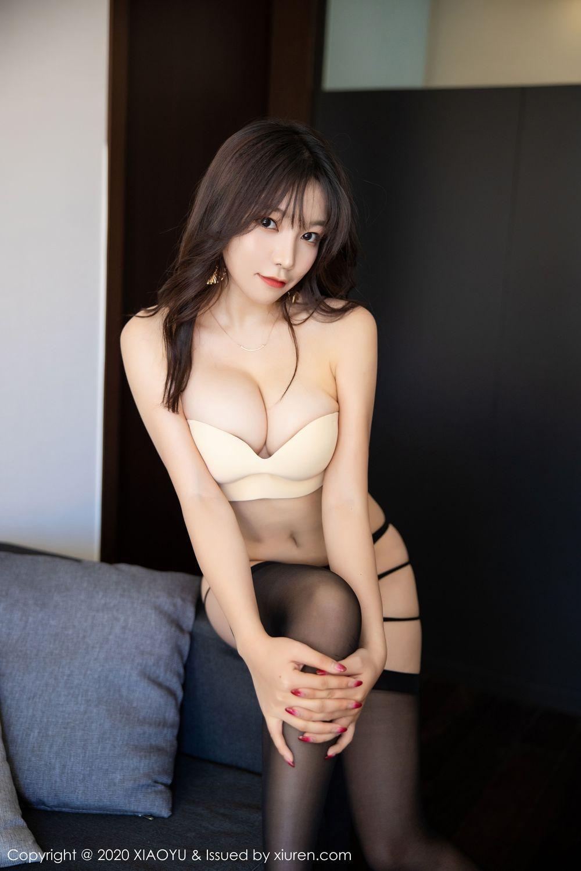[XiaoYu] Vol.232 Chen Zhi 70P, Big Booty, Black Silk, Chen Zhi, XiaoYu