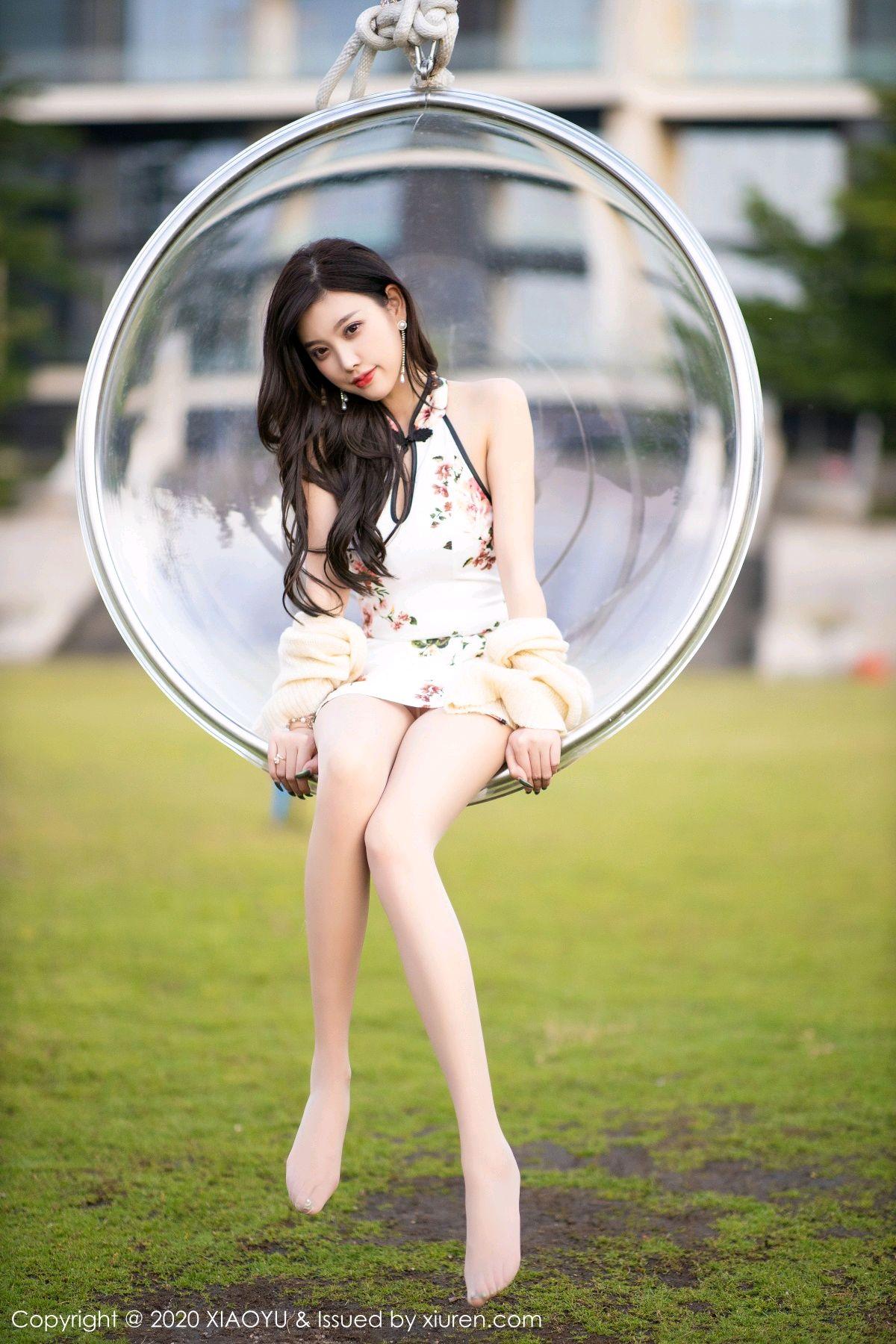 [XiaoYu] Vol.233 Yang Chen Chen 101P, Cheongsam, Foot, XiaoYu, Yang Chen Chen