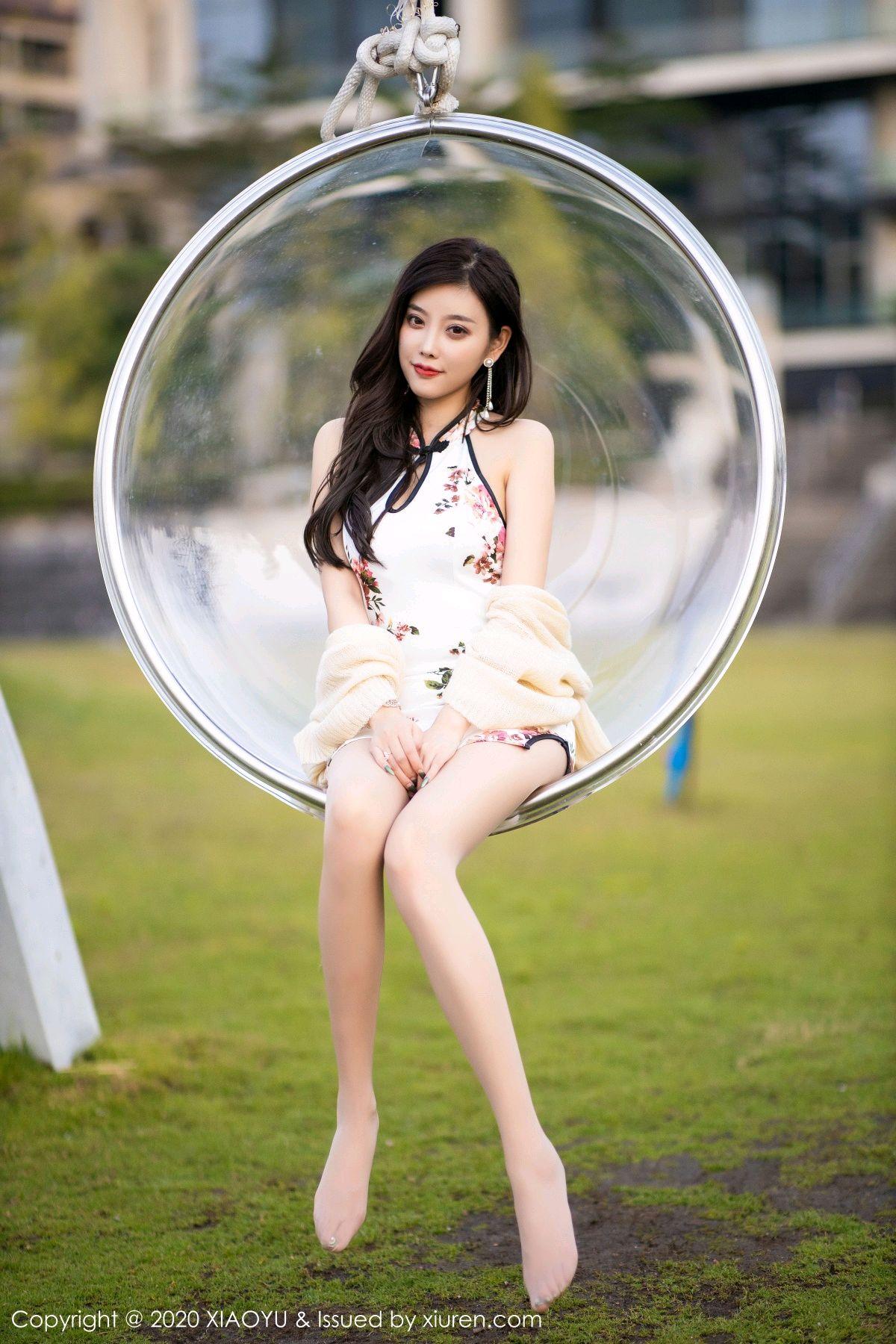 [XiaoYu] Vol.233 Yang Chen Chen 103P, Cheongsam, Foot, XiaoYu, Yang Chen Chen