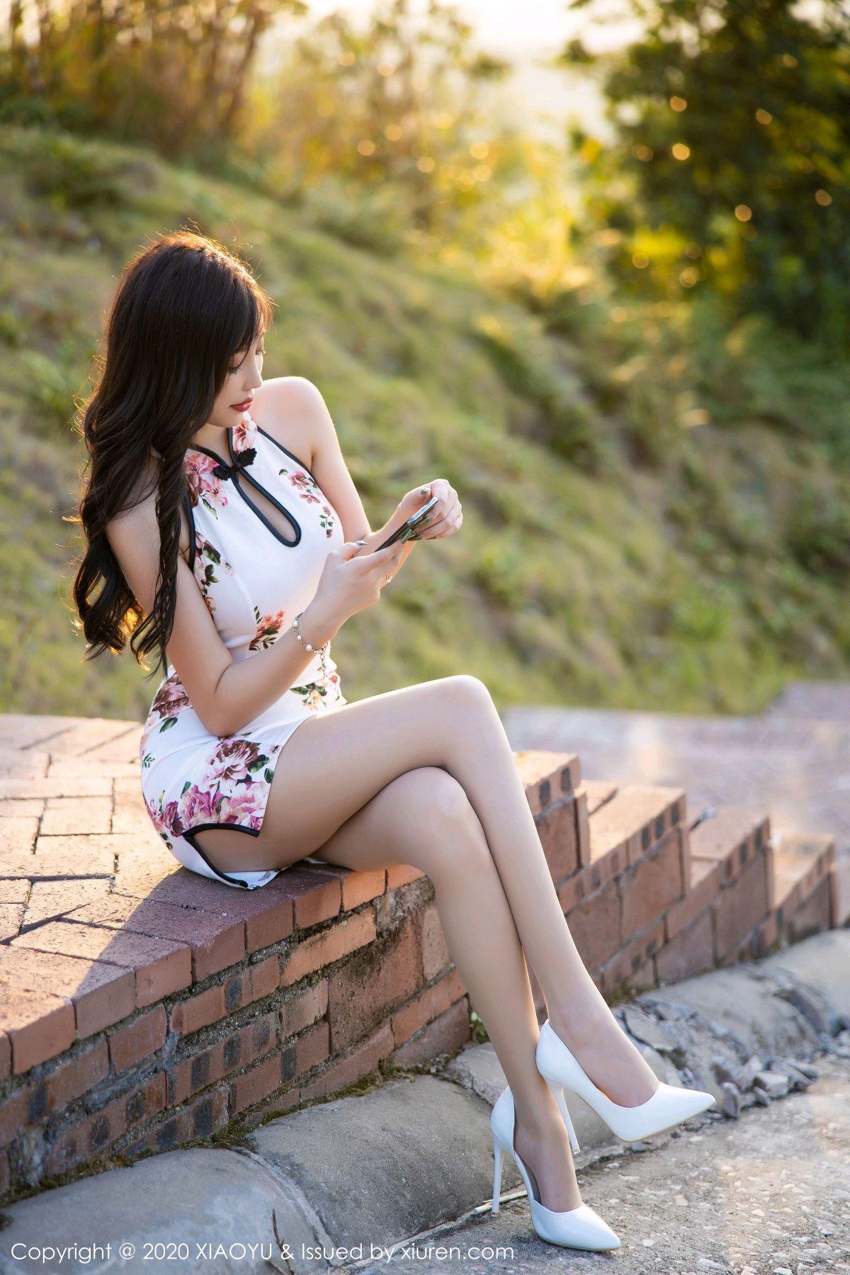 [XiaoYu] Vol.233 Yang Chen Chen 10P, Cheongsam, Foot, XiaoYu, Yang Chen Chen