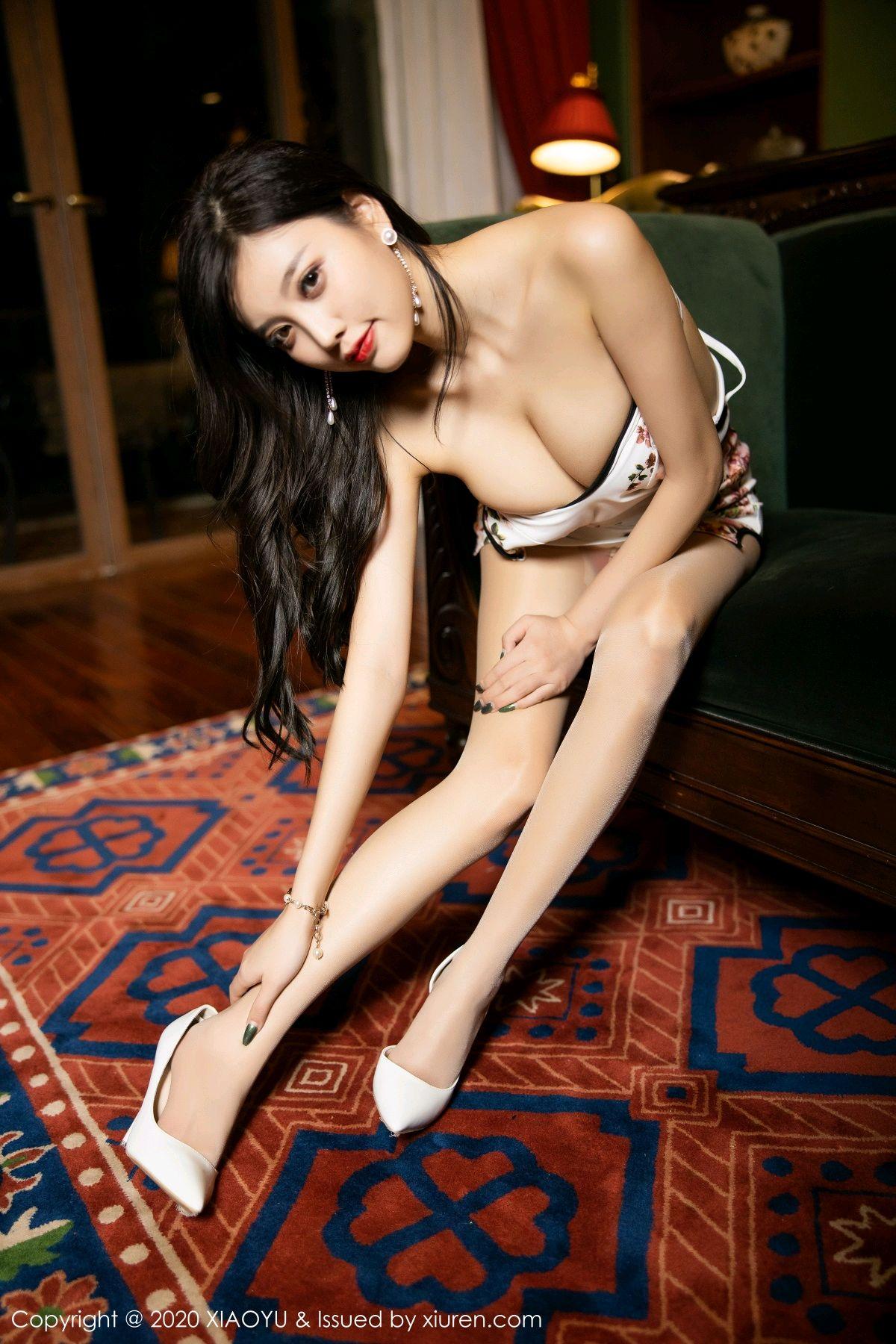 [XiaoYu] Vol.233 Yang Chen Chen 122P, Cheongsam, Foot, XiaoYu, Yang Chen Chen