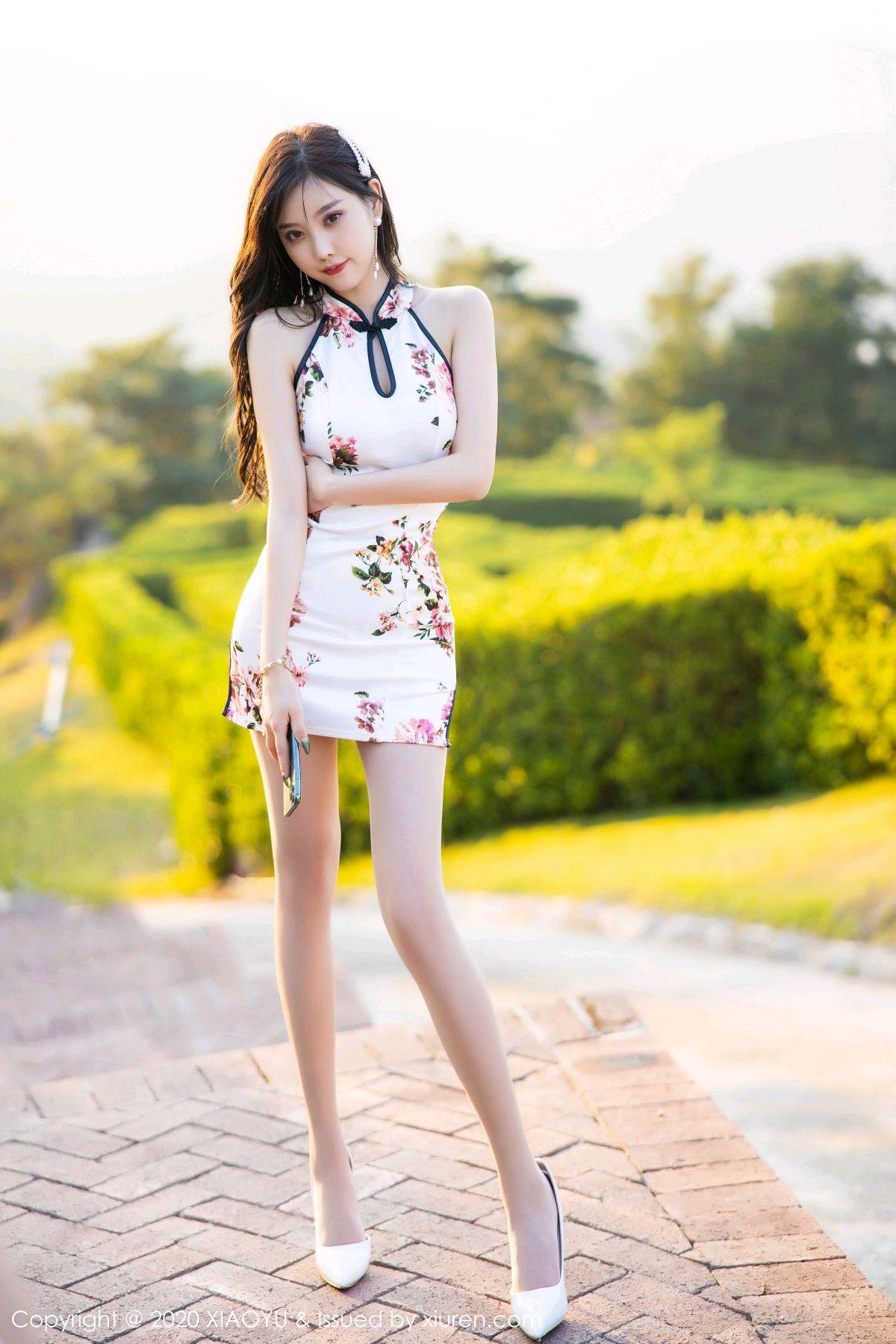 [XiaoYu] Vol.233 Yang Chen Chen 2P, Cheongsam, Foot, XiaoYu, Yang Chen Chen