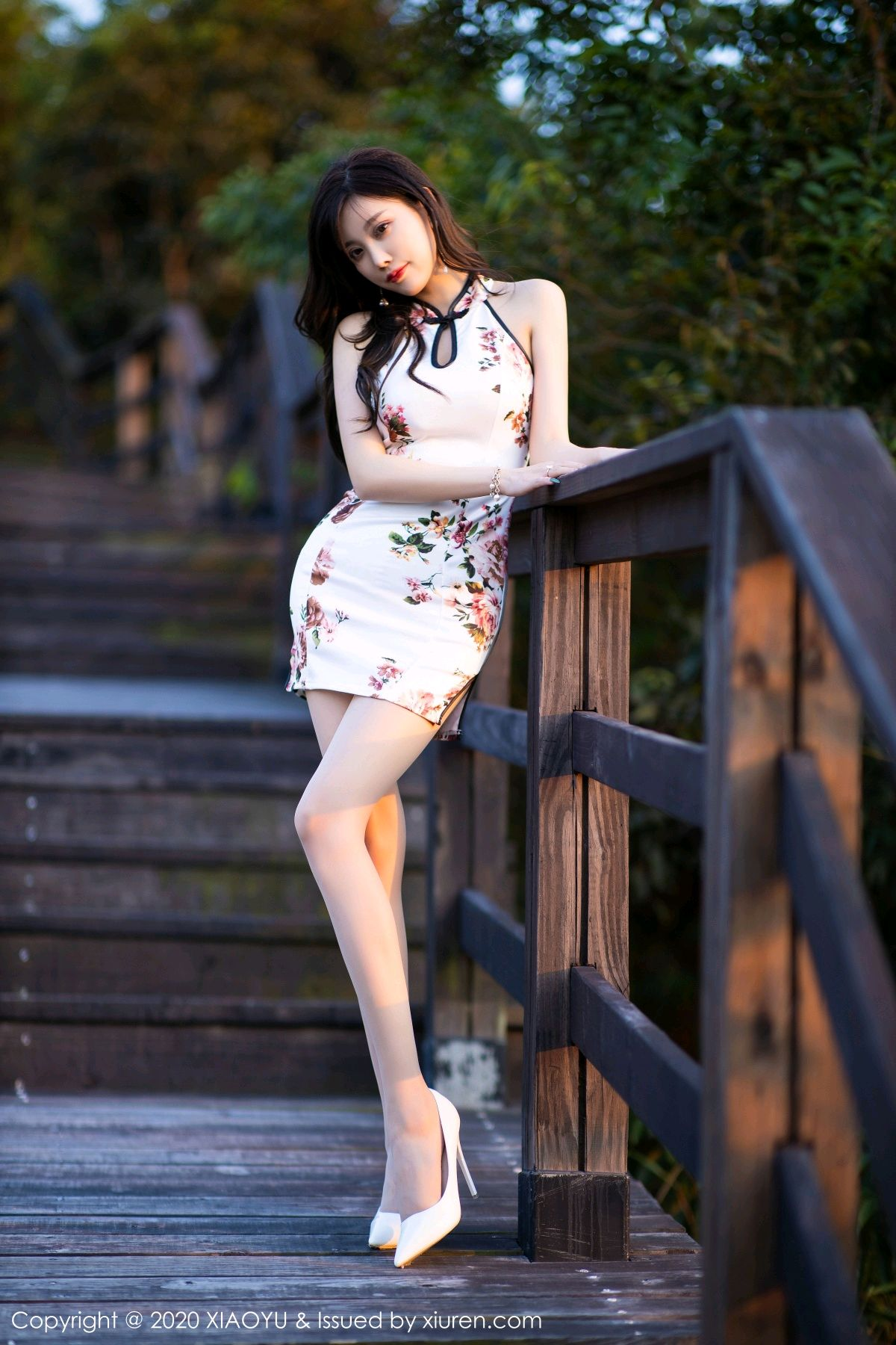 [XiaoYu] Vol.233 Yang Chen Chen 52P, Cheongsam, Foot, XiaoYu, Yang Chen Chen