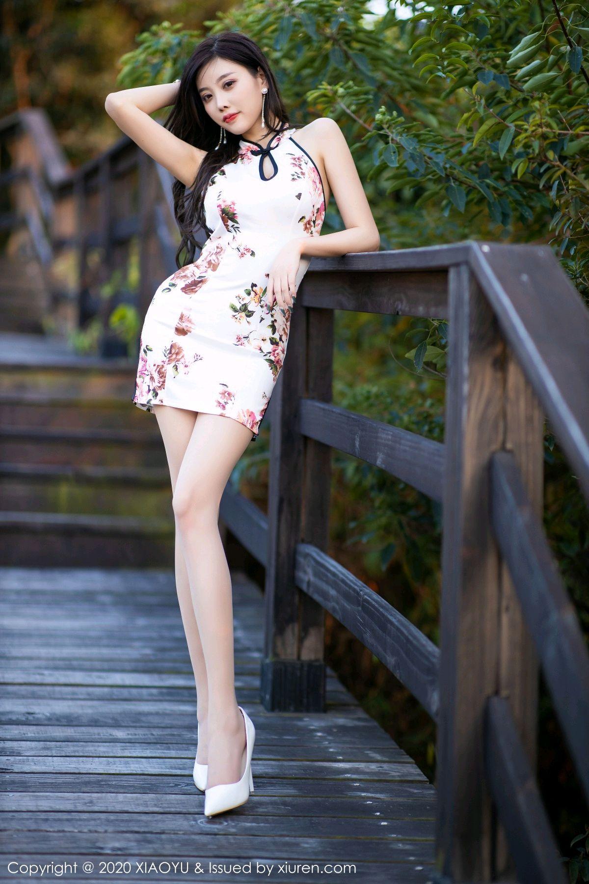 [XiaoYu] Vol.233 Yang Chen Chen 63P, Cheongsam, Foot, XiaoYu, Yang Chen Chen