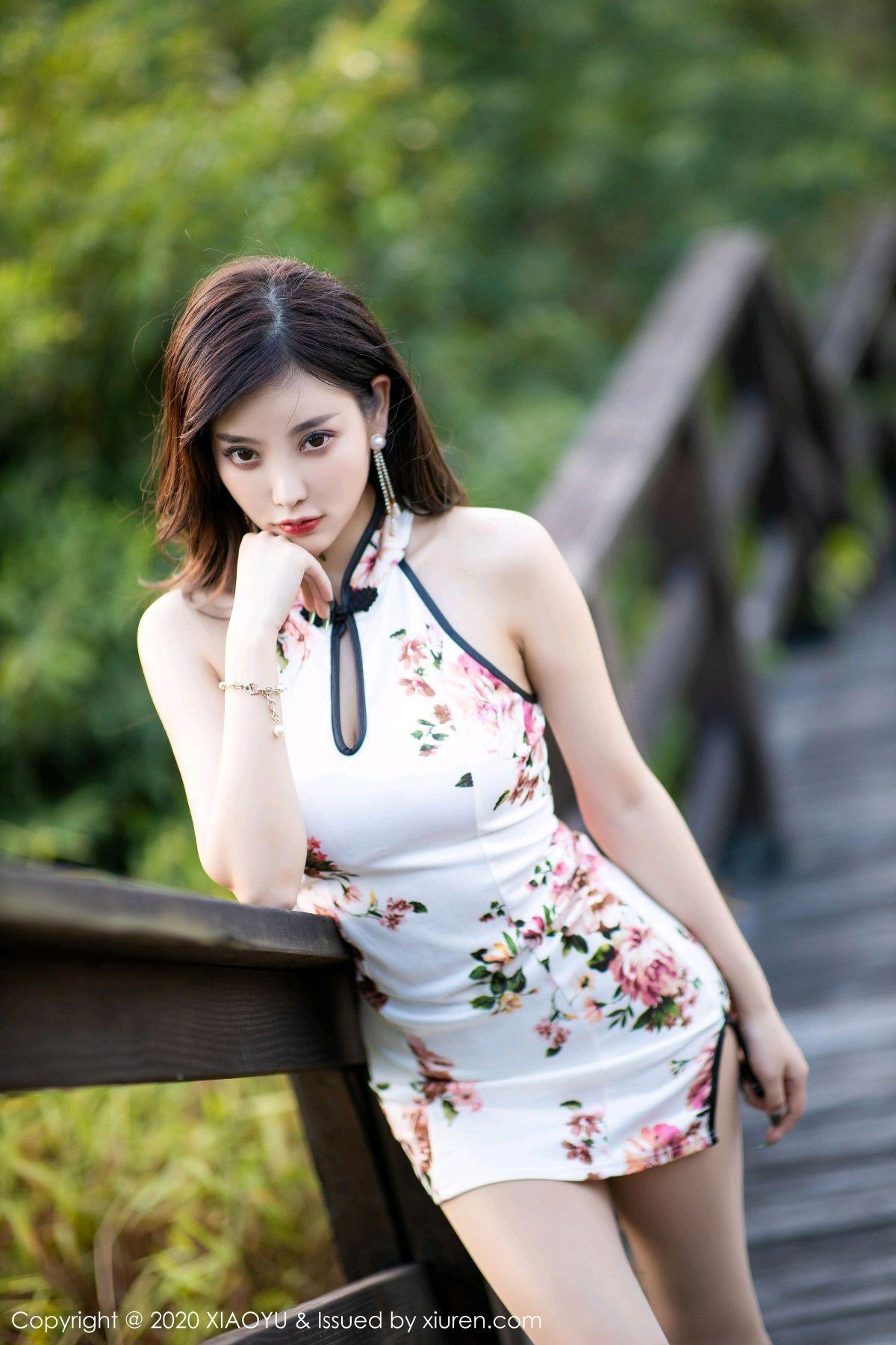 [XiaoYu] Vol.233 Yang Chen Chen 86P, Cheongsam, Foot, XiaoYu, Yang Chen Chen