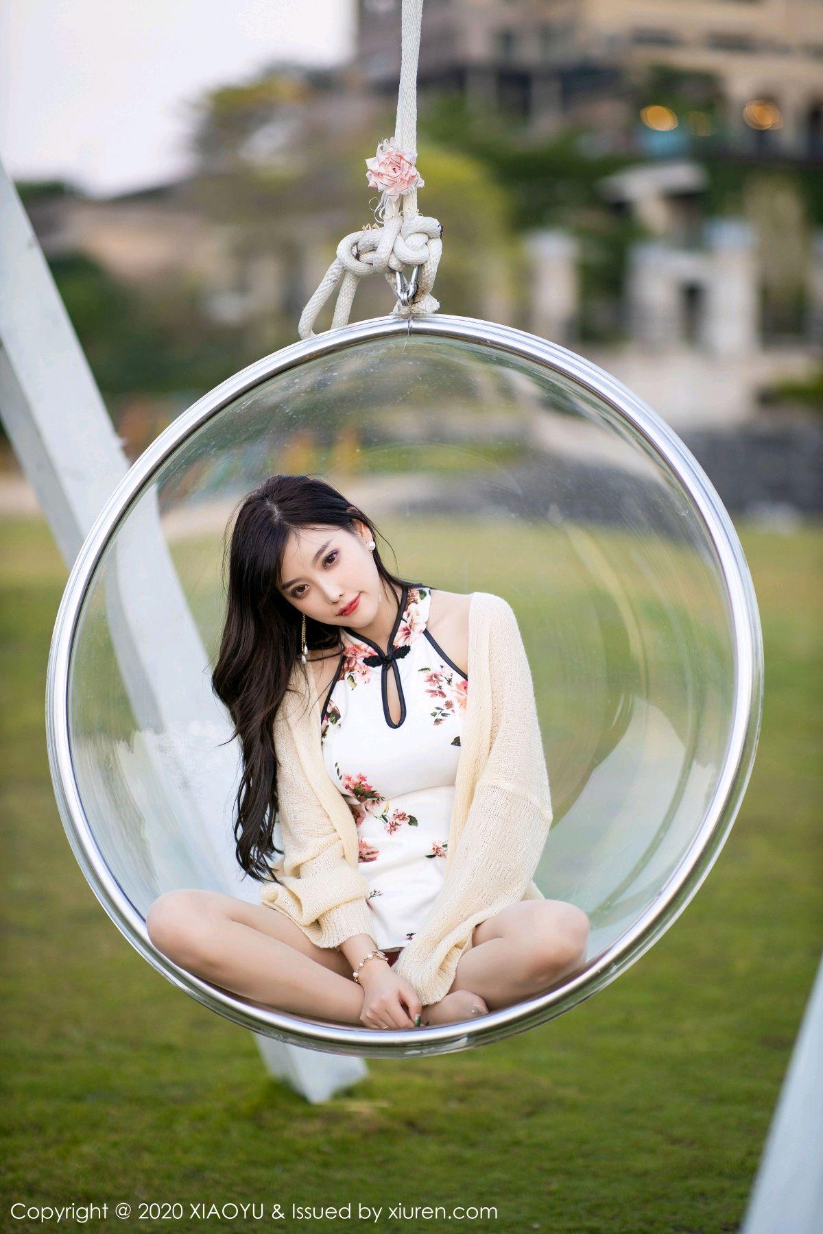 [XiaoYu] Vol.233 Yang Chen Chen 87P, Cheongsam, Foot, XiaoYu, Yang Chen Chen
