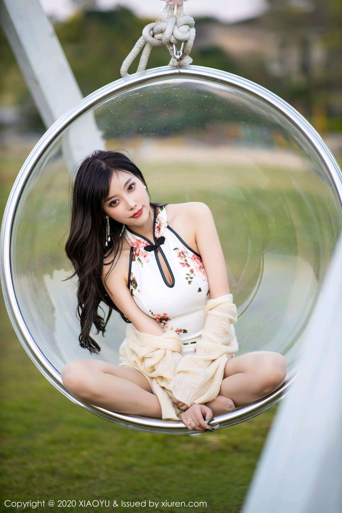 [XiaoYu] Vol.233 Yang Chen Chen 88P, Cheongsam, Foot, XiaoYu, Yang Chen Chen