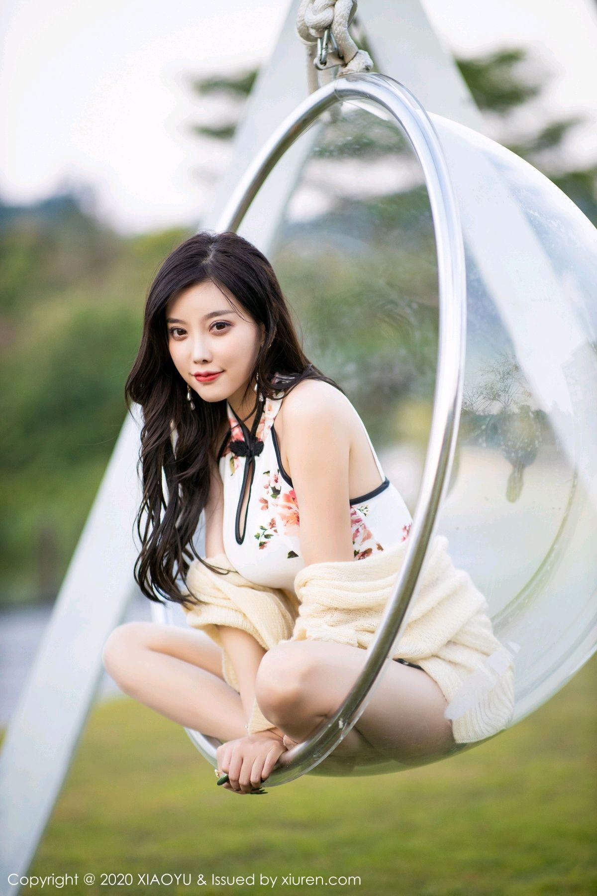 [XiaoYu] Vol.233 Yang Chen Chen 89P, Cheongsam, Foot, XiaoYu, Yang Chen Chen